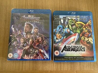 Avengers End Game Double Bluray