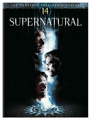 Supernatural: The Complete 14th Season (DVD, 2019, 5-Disc set) NEW!