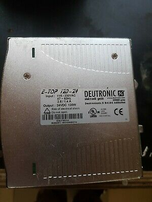 Deutronic E-TOP 120-24 Power Supply- Gebraucht/Used