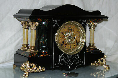 "SETH THOMAS Mantel Antique Clock c/1906- FULLY  RESTORED --Model ""SHASTA"""