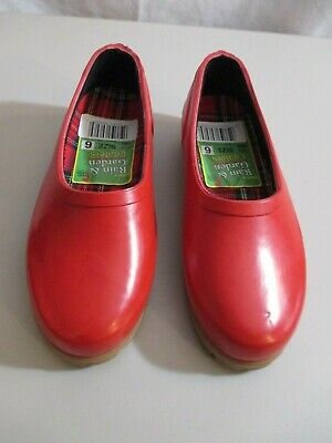 Midwest Quality Womens Rain & Garden Loafers Size 6 NEW