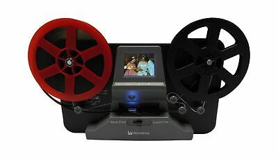 Wolverine 8mm and Super 8 Film Reel Converter Scanner to Convert Film into Di...