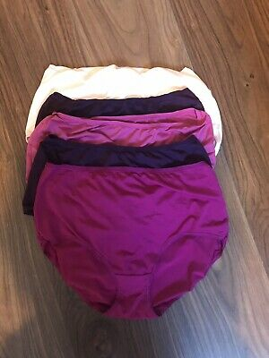 Ladies M&S full briefs size 14. 5 pack mix of colours. Removed From Packaging