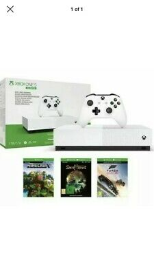 Xbox One S All Digital 1TB Bundle With 3 Games All Digits... Brand New Sealed