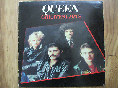 Queen - Greatest Hits vinyl LP on EMI 1981 with inner sleeve