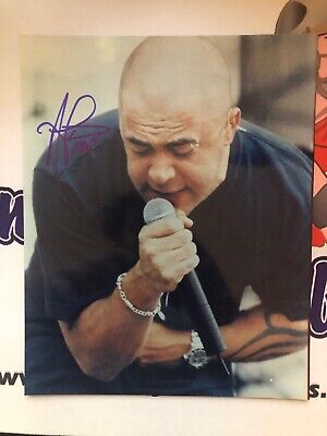 Aaron Lewis Staind Signed Autographed 8x10 W/COA
