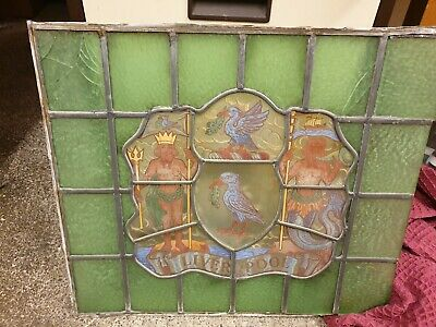 Liverpool Stained glass window antique