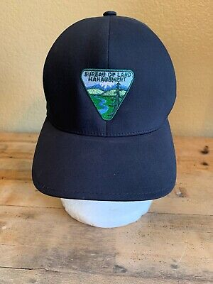 Bureau Of Land Management BLM Cap Size L/XL Embroidered Patch Pre-Owned