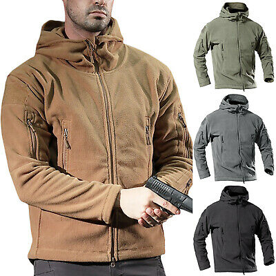 Mens Windproof Winter Outdoor Jackets Tactical Coat Soft Shell Military Jackets