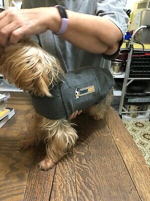 Thundershirt Dog Anxiety Vest Calm Heather Gray SMALL (15-25 lbs dogs) Authentic