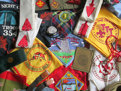 BOY SCOUT NECKERCHIEFS Order Of The Arrow Sashes Philmont Chicago Baden Powell