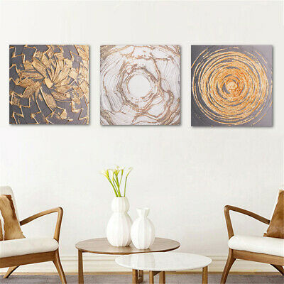 Unframed Wall Art Abstract Canvas Painting Print Poster Room Home Decor 30X30CM