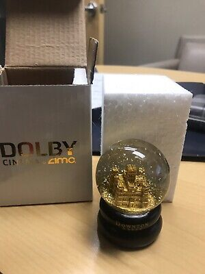 Downton Abbey Snowglobe Snow Globe Fan Event Dolby AMC Rare