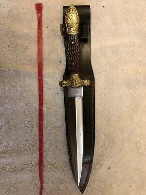 """Vintage Boot knife, dagger, short sword - Liberty and Union 11.5"""" w/ sheath incl"""