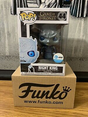Funko Pop! Game of Thrones #44 Metalic Night King AT&T Exclusive In Hand