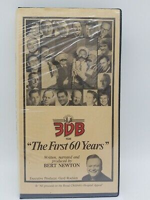 """3DB Radio """"The First 60 Years"""" Narrated by Bert Newton 3 Cassette Box Set"""