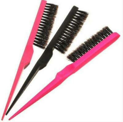 Wig Back Brush Extension Line Hair Salon Comb Teasing Smooth Durabl