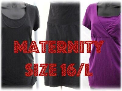 Bulk (3) Maternity Clothing. Size 16/L