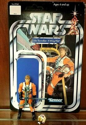 "Star Wars Luke Skywalker X-Wing Pilot Vintage Saga Collection VTSC 3.75"" Figure"