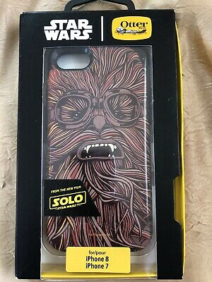 OtterBox Symmetry Star Wars Chewbacca Case For Apple iPhone 7 iPhone 8       M94