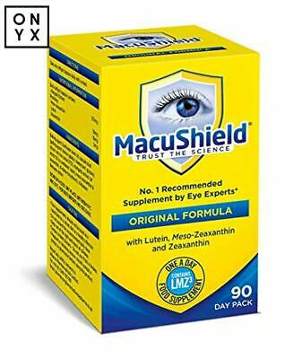 Macushield Capsules Pack of 90 Recommended Supplement by Eye Experts
