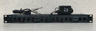 Alesis 3630 Compressor Limiter with Gate RMS/Peak Dual Channel