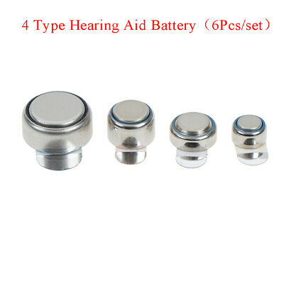 6pieces/set new in package 10 13 312 675 hearing aid battery 1.45v 0% mercury pt