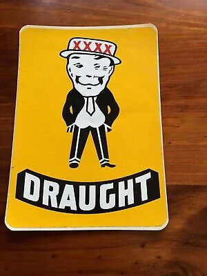Mr Fourex Xxxx Draught Beer Sticker
