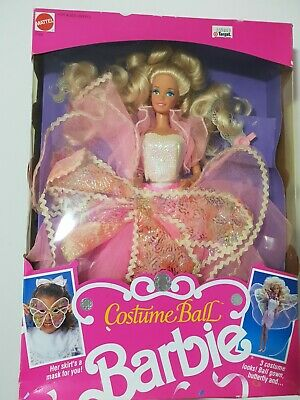 Rare MIMB Vintage New Barbie Doll #7123 from 1990 - Costume Ball Barbie