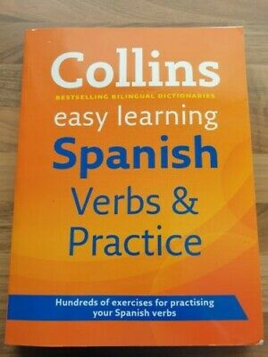 Easy Learning Spanish Verbs and Practice by Collins Dictionaries (Paperback,...