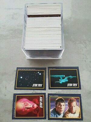 Star Trek 25th Anniversary - Complete Trading Cards SET (310 cards) 1991 NM