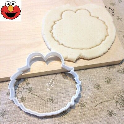 Elmo Cookie Cutter - Fondant Cake Cupcake Topper Baby Shower Sesame Street Party
