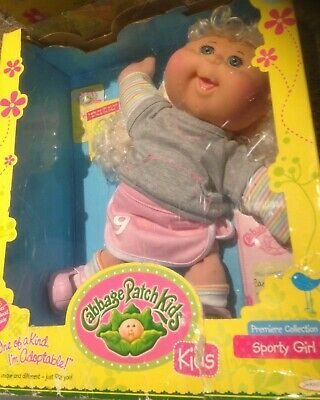 Cabbage Patch Kids Babies 32cm Doll Toy Gift Sporty Girl Caney Harley