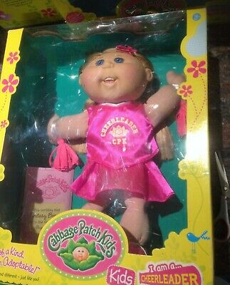 Cabbage Patch Kids Babies 32cm Doll Toy Gift Cheerleader Lindsay Brenna