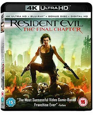 Resident Evil - The Final Chapter [4K Uhd+Bluray] 1 - New & Sealed