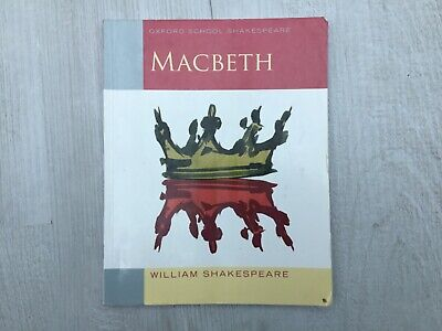 MACBETH by WILLIAM SHAKESPEARE, OXFORD University Press, ISBN 9780198324003