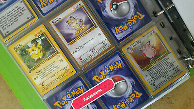 POKEMON Jungle (1st) First Editon - Complete Set 64 cards + Clefable Prerelease