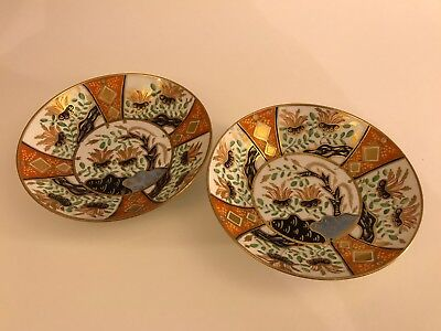 Early 19th century Spode Imari saucers