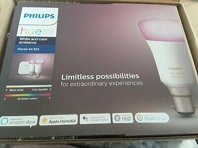 philips smart home kit with echo dot 3rd gen brand new still in box