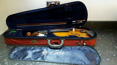 A Stentor Student Ii Full Size Violin 4/4