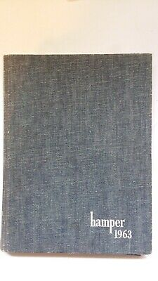 1963 Hamper Smith College Northampton, MA yearbook - Excellent  Shape