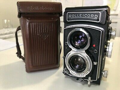 Rolleicord Vb CLA'd and Tested with Case medium format 120 TLR