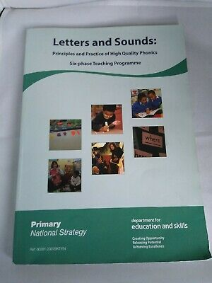Letters and Sounds 6-Phase Principles and Practice of High Quality Phonics Book
