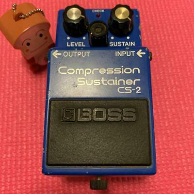 BOSS CS-2 Compression Sustainer Guitar Pedal Effect FREE SHIPPING