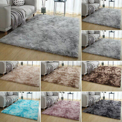 Soft Cosy Shaggy Rugs Fluffy Living Room Area Carpet Home Floor Mat Bedroom Pile