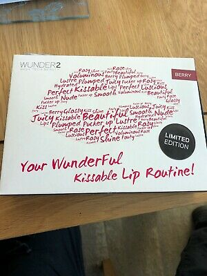 Wunder2 Kissable Lip Routine In Berry