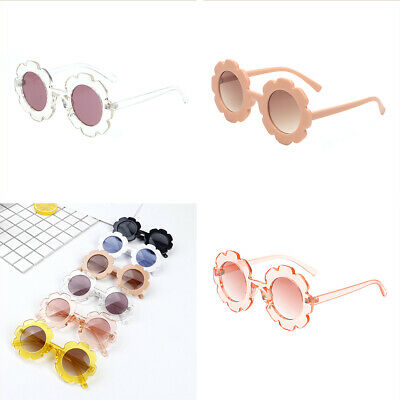 Girls Baby Retro Kids Sunglasses New Fashion Anti-UV Boys Children Glasses
