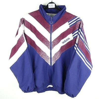 Women's Vintage 90's Adidas Track Top Size 14 (E21)