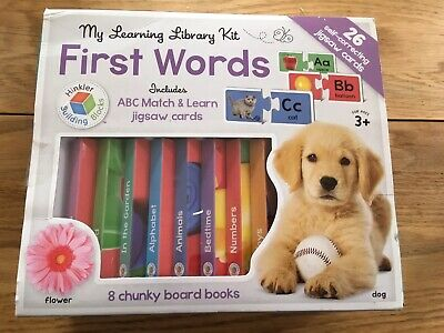 Building Blocks Learning Library Words by Hinkler Books IMMACULATE CONDITION