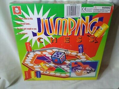 Board Game Jumping Chess Fun For All The Family To Play